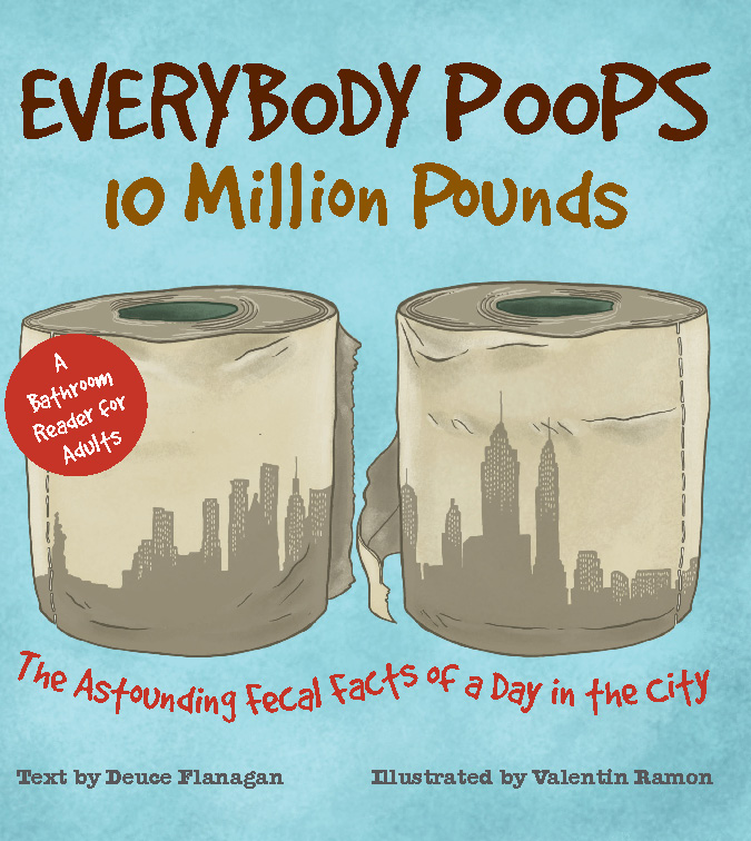 Everybody Poops 10 Million Pounds cover