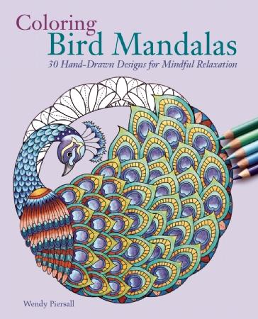 Coloring Bird Mandalas Cover Photo
