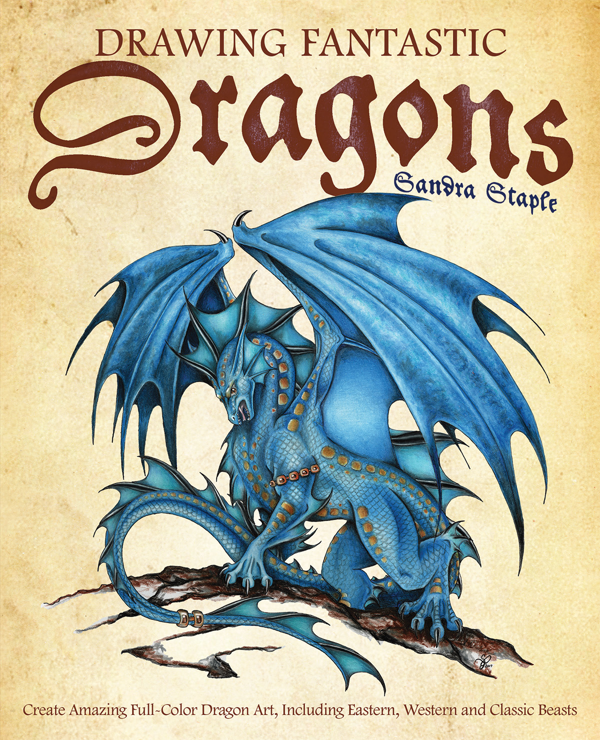 Drawing Fantastic Dragons Cover