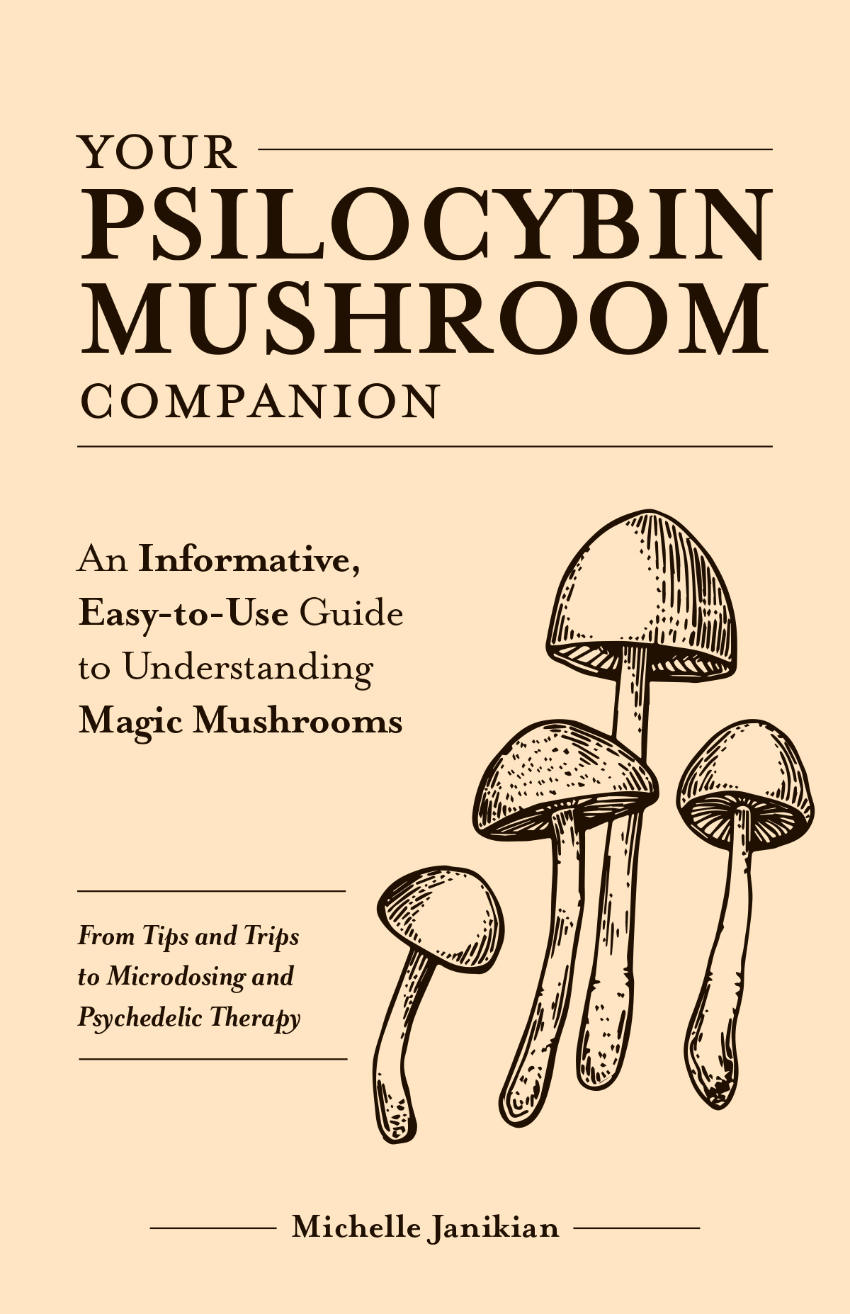 Your Psilocybin Mushroom Companion Cover
