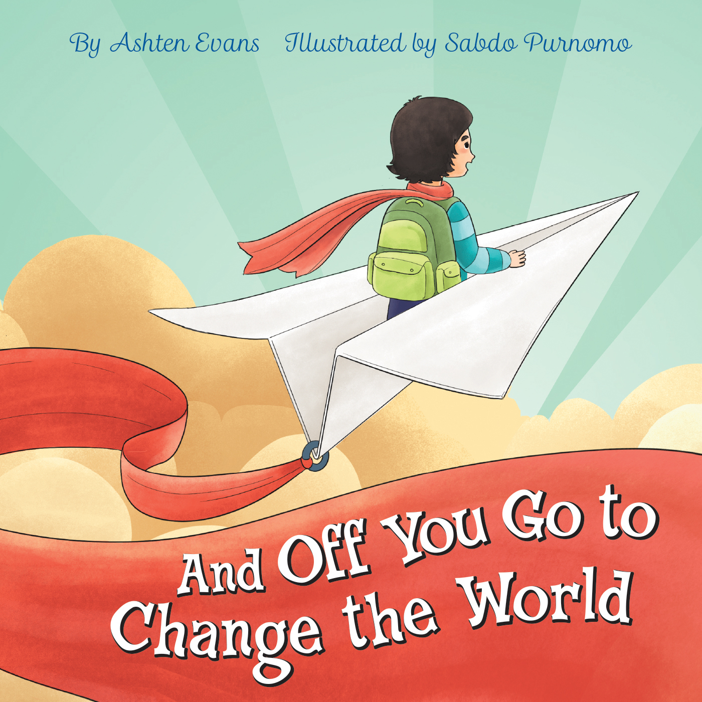 And Off You Go to Change the World Cover