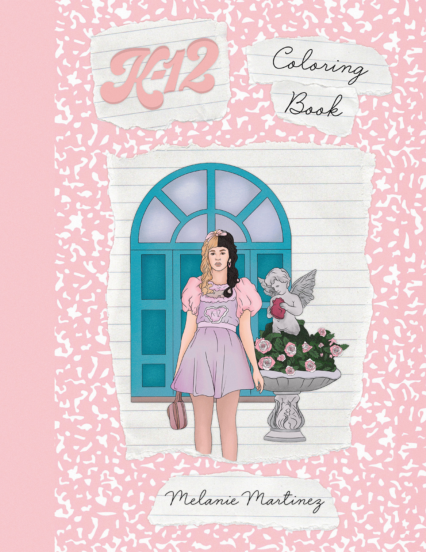 Cover for K-12 Coloring Book Melanie Martinez