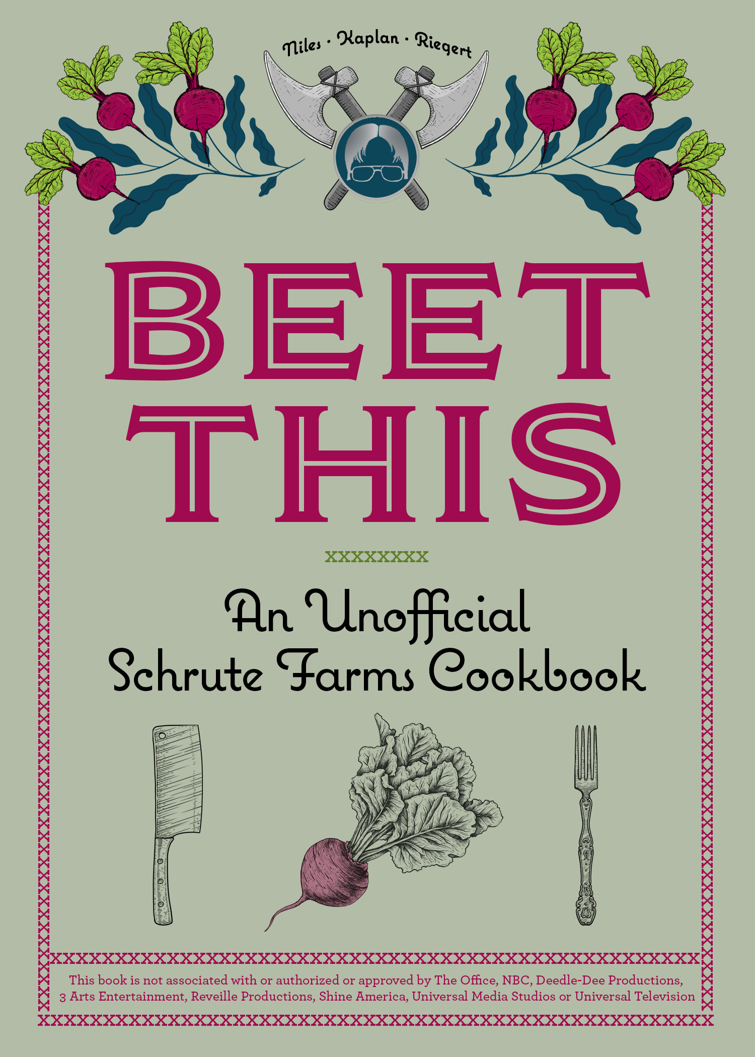 Beet This The Office Cookbook Cover