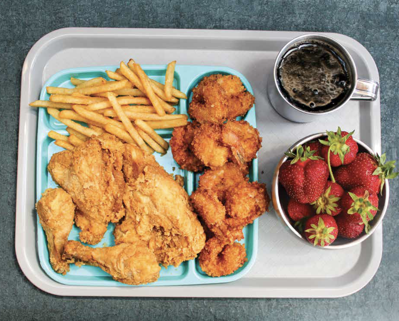 John Wayne Gacy's Last Meal, Fried Chicken