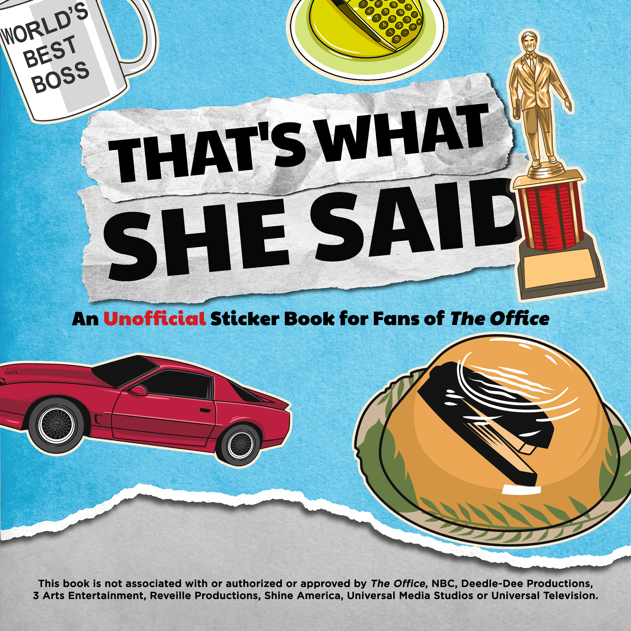 That's What She Said The Office Sticker Book